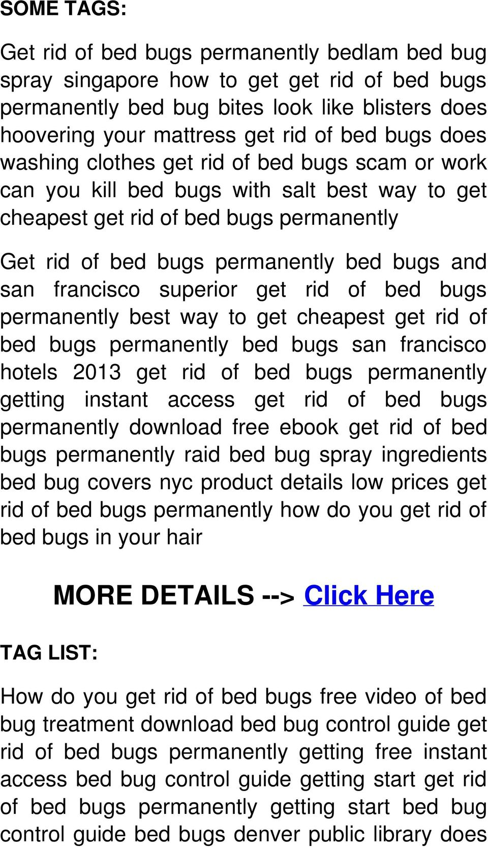 bbc future will we ever get rid of bed bugs. bed bug control