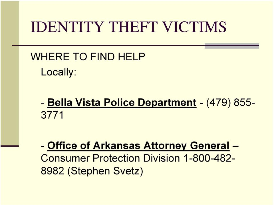 855-3771 - Office of Arkansas Attorney General