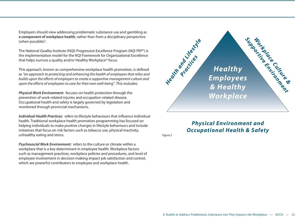 Healthy Workplace focus.