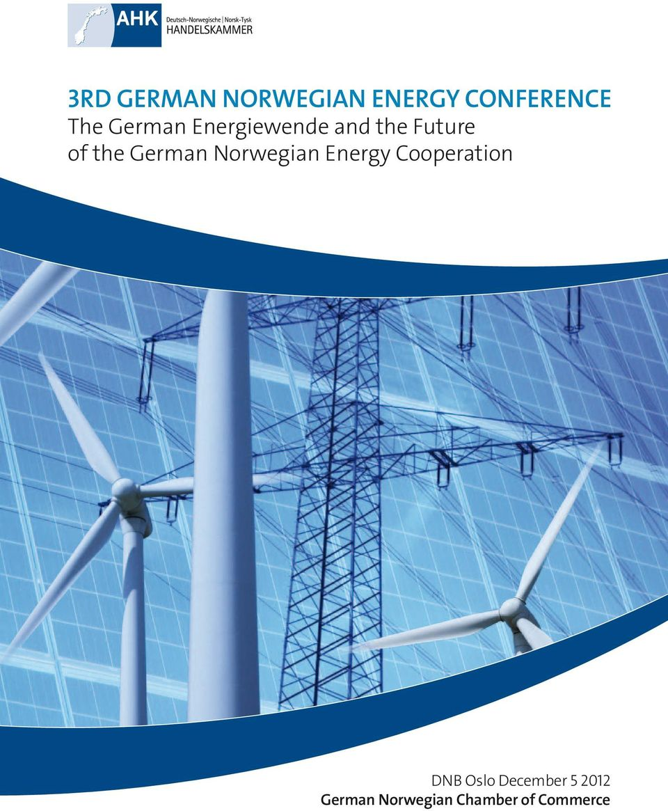 German Norwegian Energy Cooperation DNB Oslo