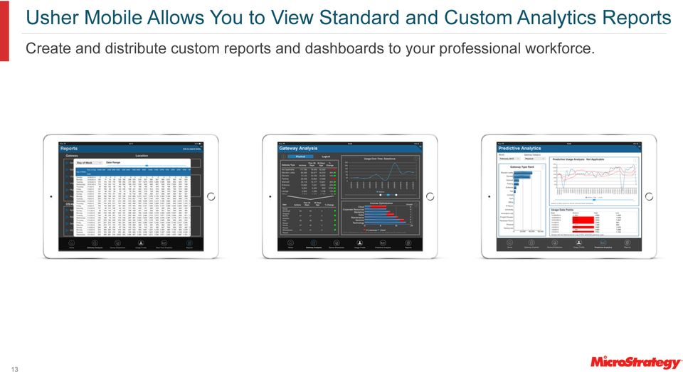 Create and distribute custom reports