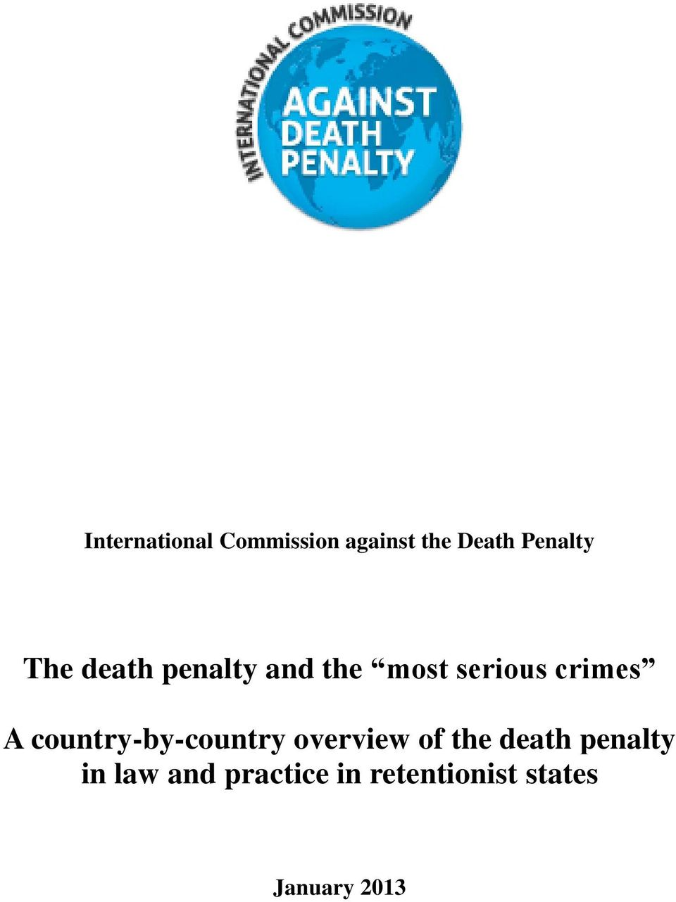 country-by-country overview of the death penalty