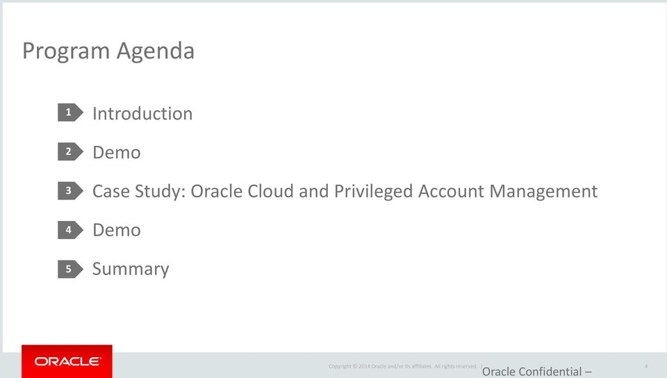 Oracle Cloud and Privileged
