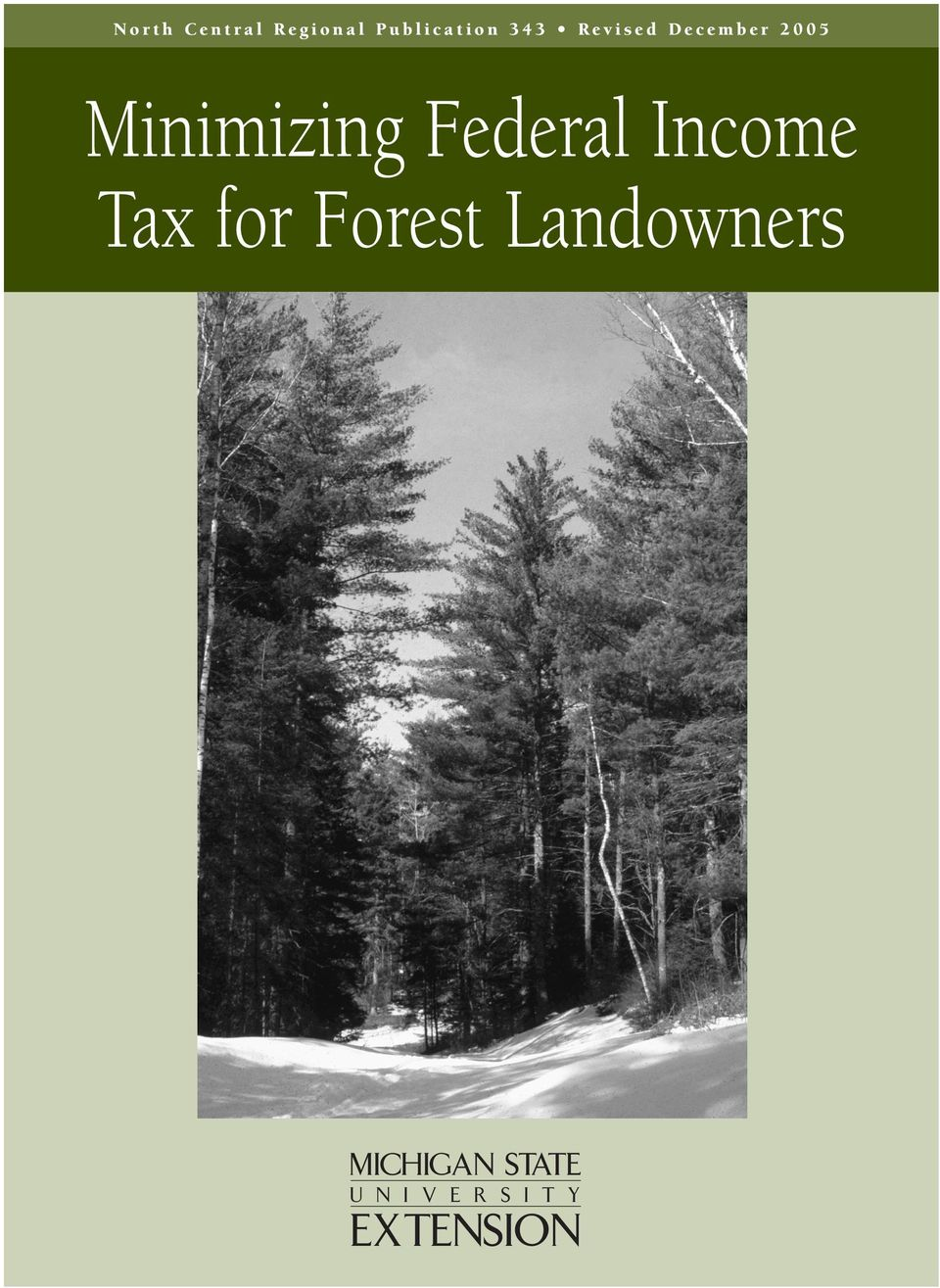 Federal Income Tax for Forest