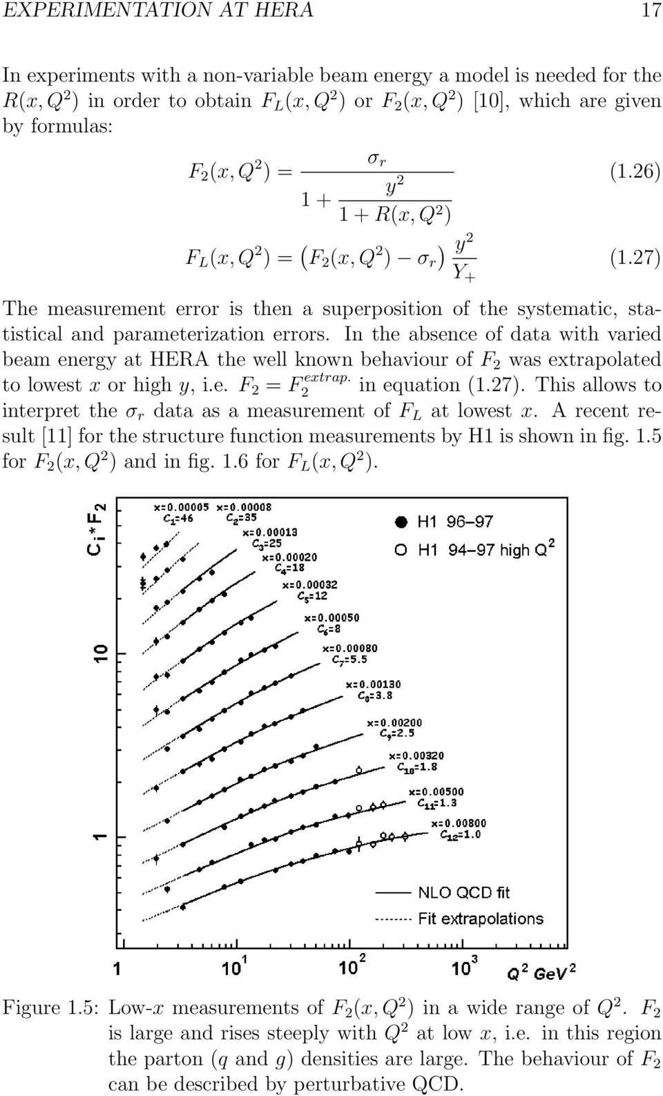 27) The measurement error is then a superposition of the systematic, statistical and parameterization errors.