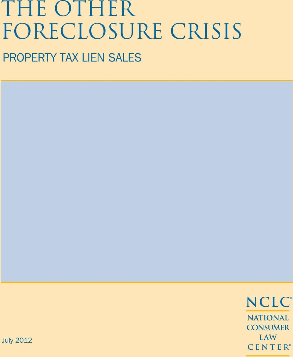 Lien Sales July 2012