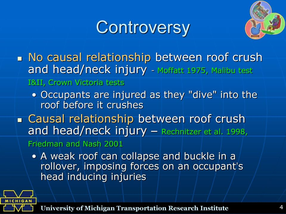 crush and head/neck injury Rechnitzer et al.