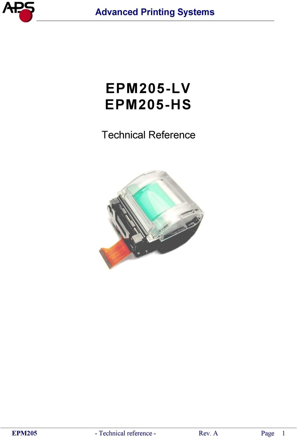 Reference EPM205 -