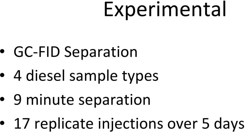 types 9 minute separation