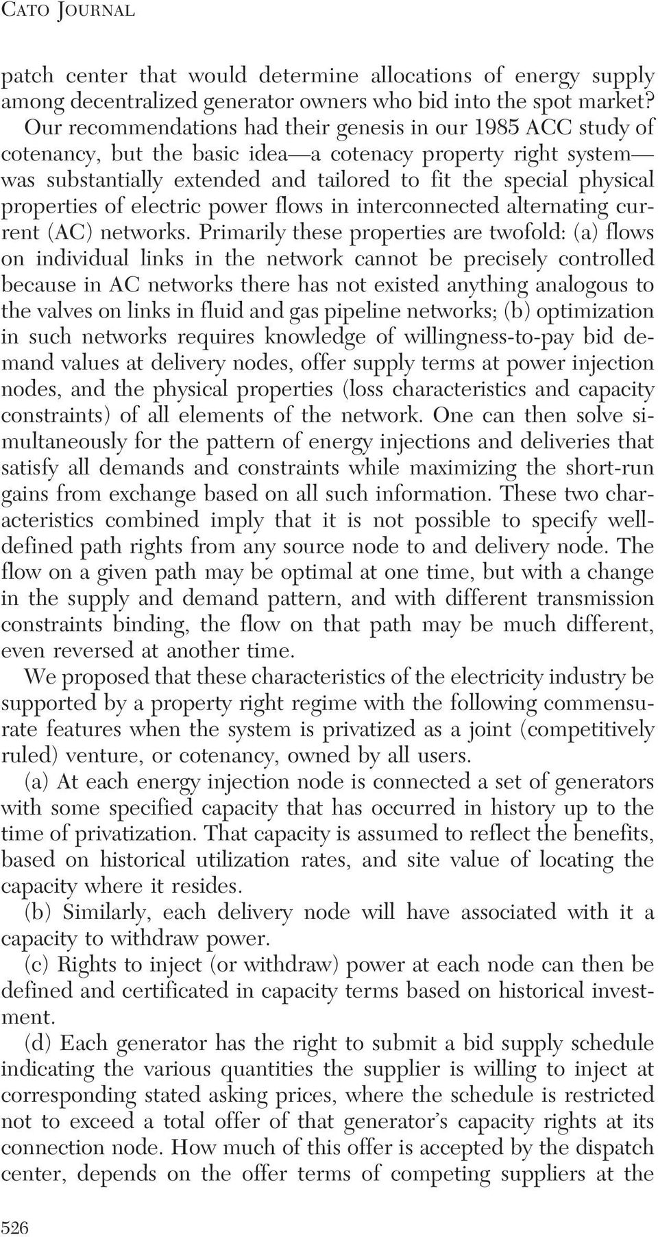 properties of electric power flows in interconnected alternating current (AC) networks.