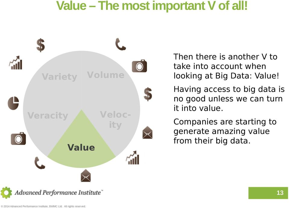 looking at Big Data: Value!