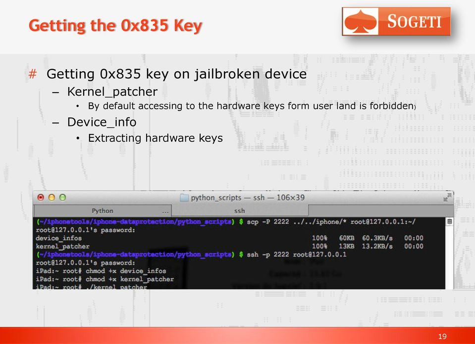 accessing to the hardware keys form user land