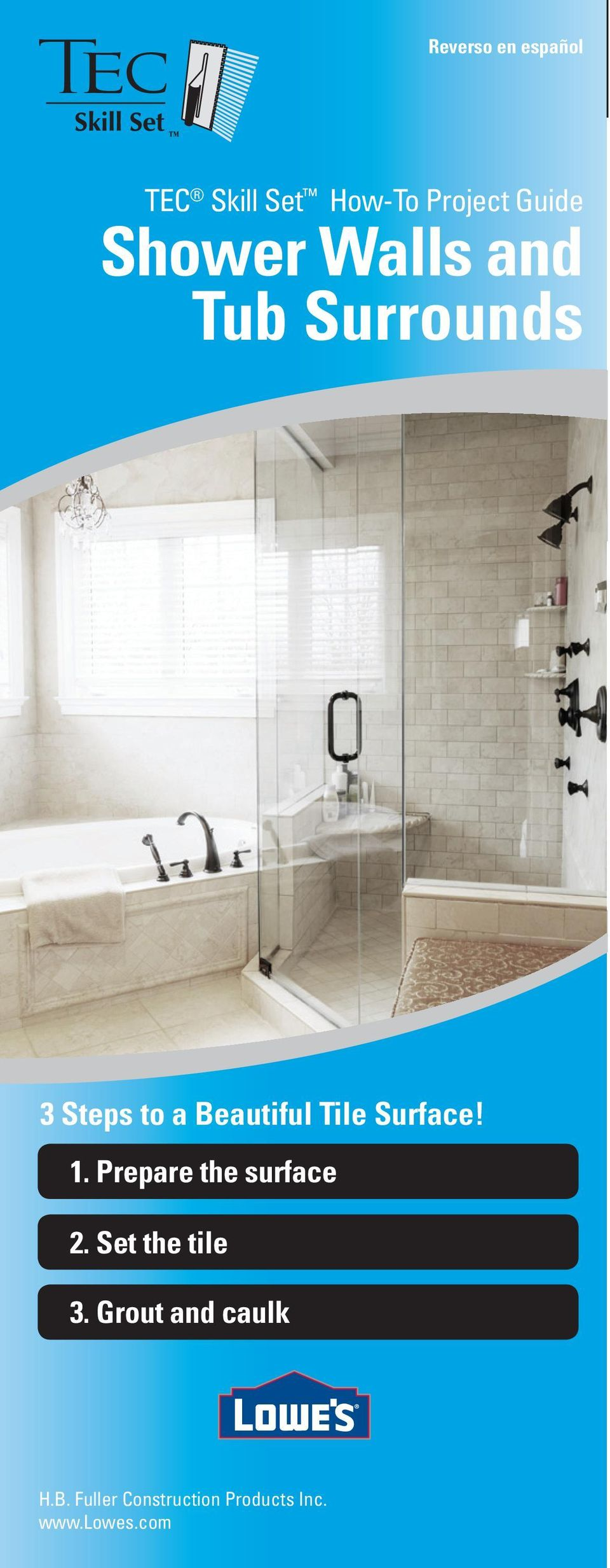 Shower Walls and Tub Surrounds - PDF