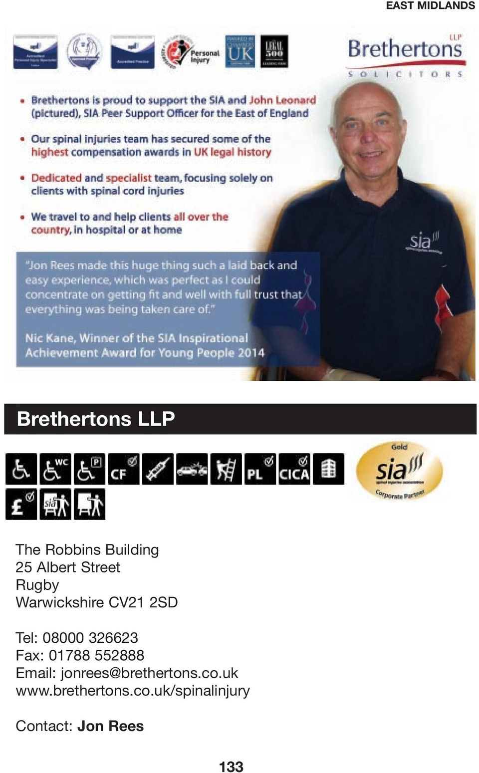 326623 Fax: 01788 552888 Email: jonrees@brethertons.