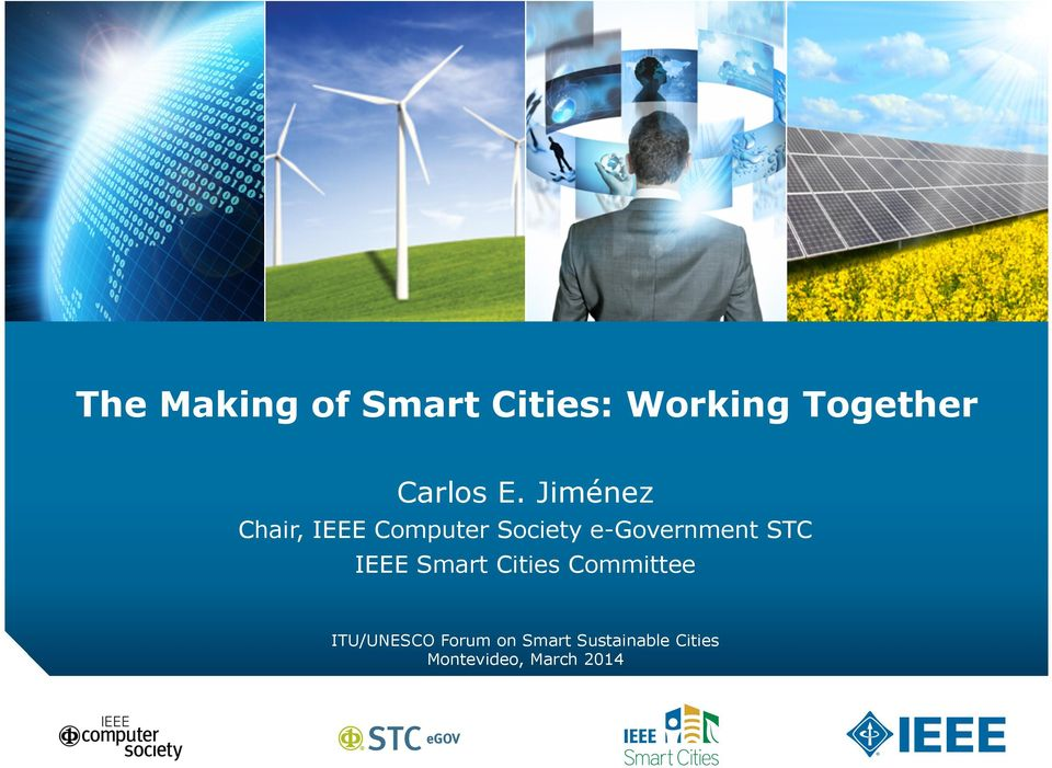 e-government STC IEEE Smart Cities Committee