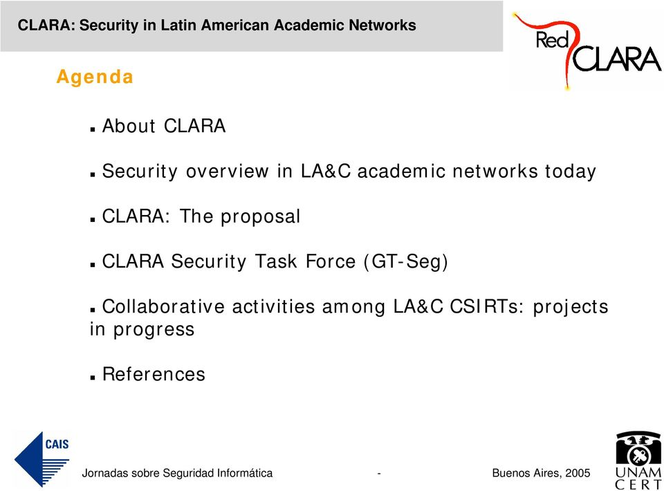 Security Task Force (GT-Seg) Collaborative