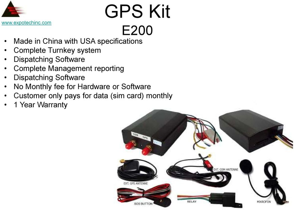 reporting Dispatching Software No Monthly fee for Hardware or