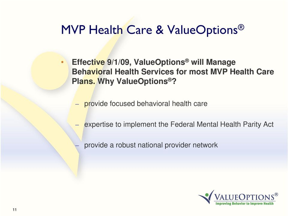 Why ValueOptions?