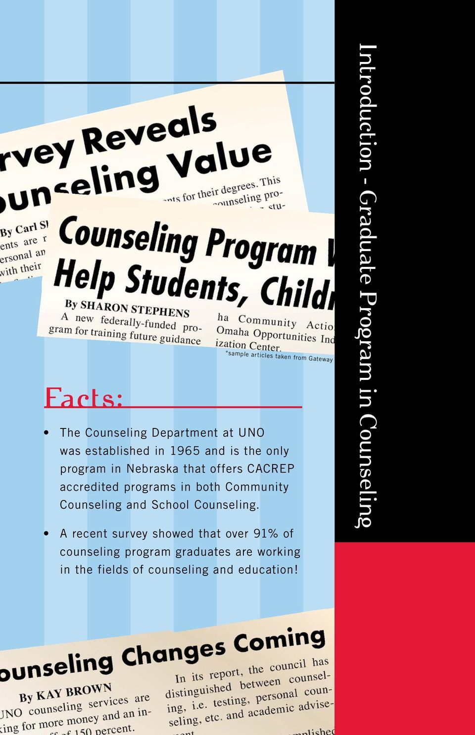 Counseling and School Counseling.