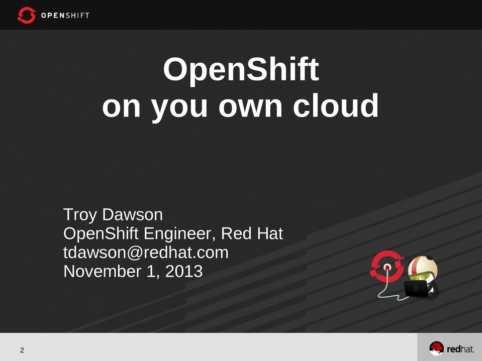 OpenShift Engineer, Red