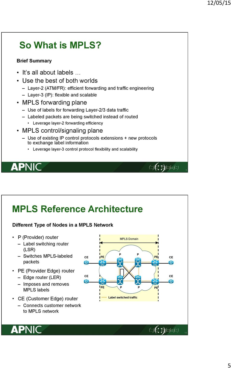 forwarding Layer2/3 data traffic ed packets are being switched instead of routed Leverage layer2 forwarding efficiency MLS control/signaling plane Use of existing I control protocols extensions + new