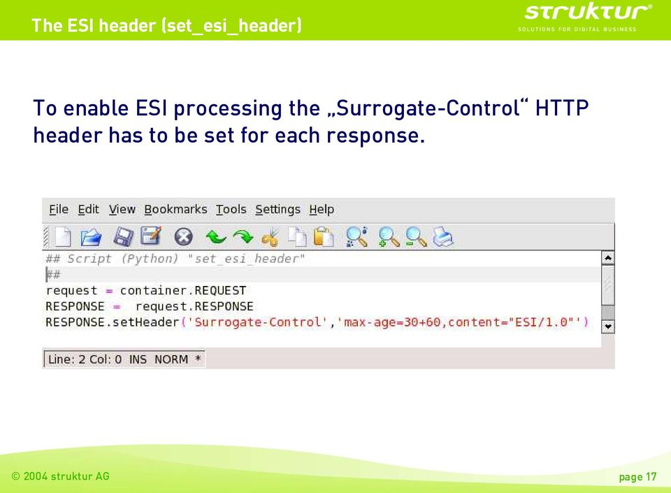Surrogate-Control HTTP header has to