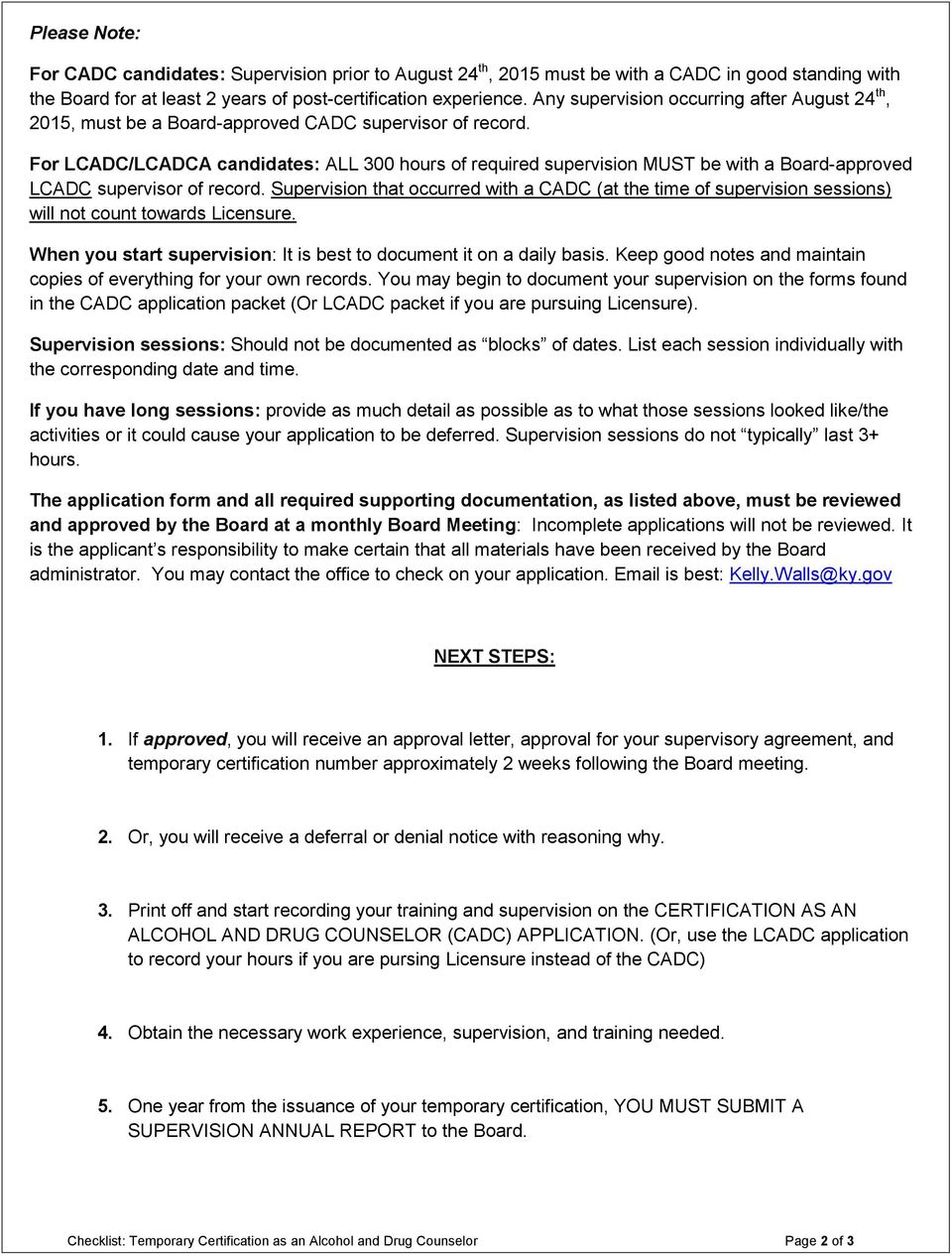 Application Letter Of Good Standing