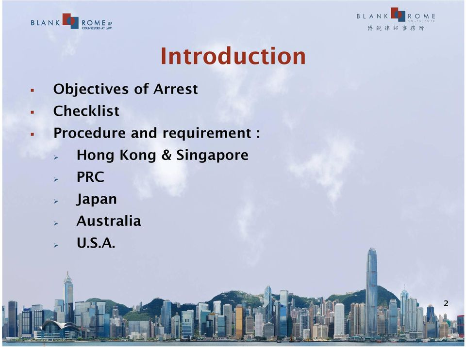 requirement : Hong Kong &