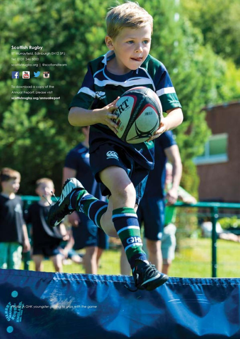 org @scotlandteam To download a copy of the Annual Report,