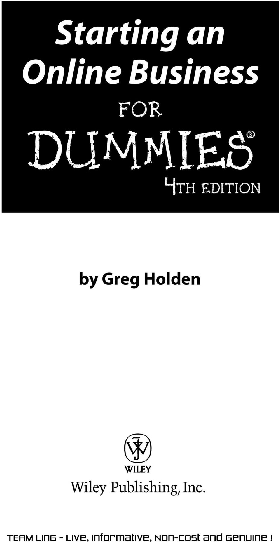 FOR DUMmIES 4TH