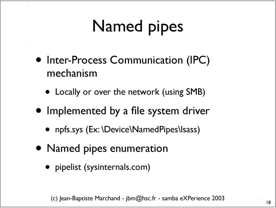 file system driver npfs.