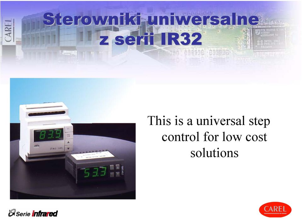 universal step control