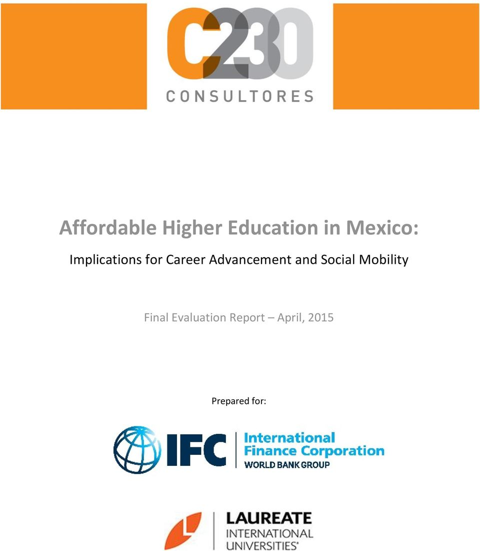 Advancement and Social Mobility