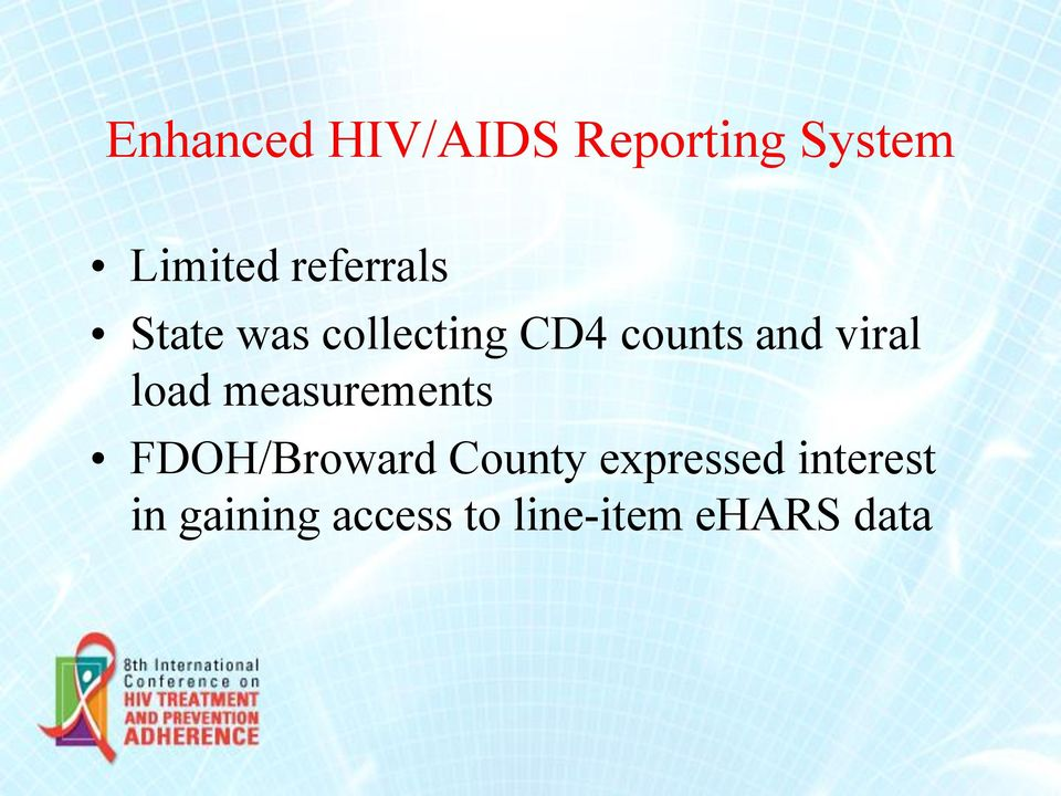 viral load measurements FDOH/Broward County
