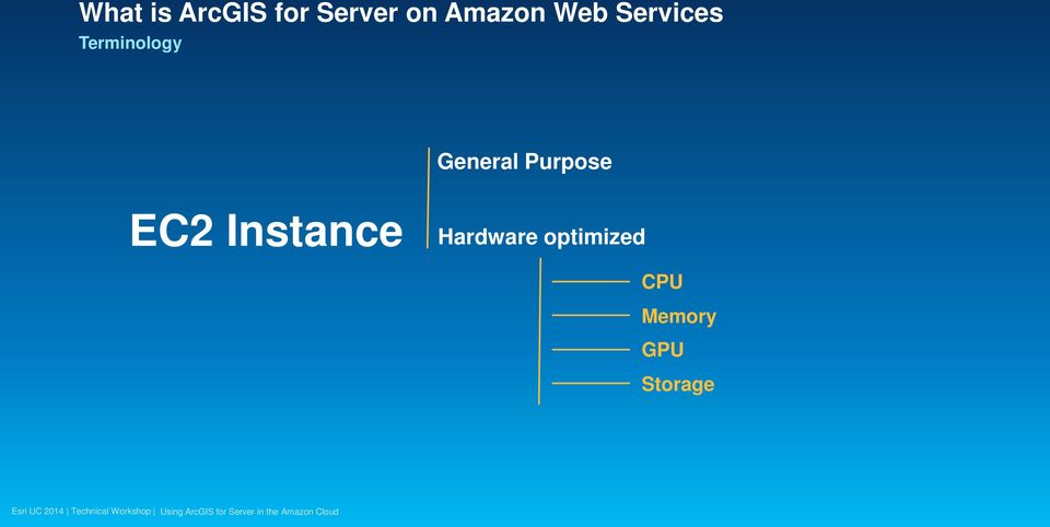 General Purpose EC2 Instance