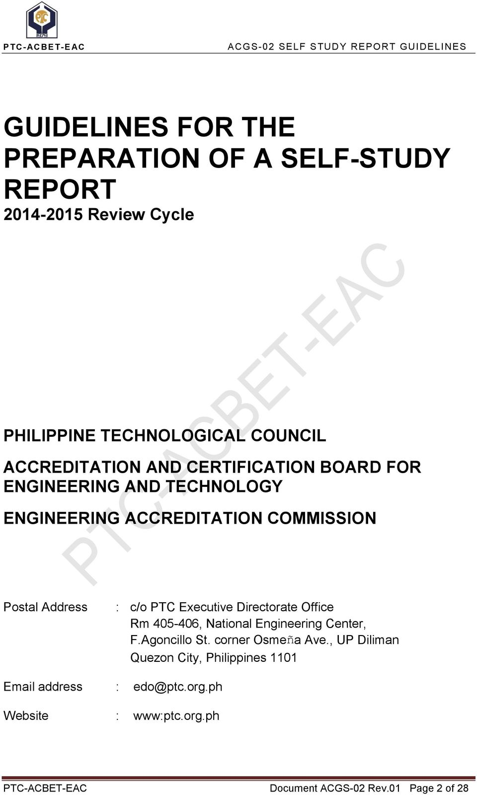 Certification And Accreditation System For Engineering Education
