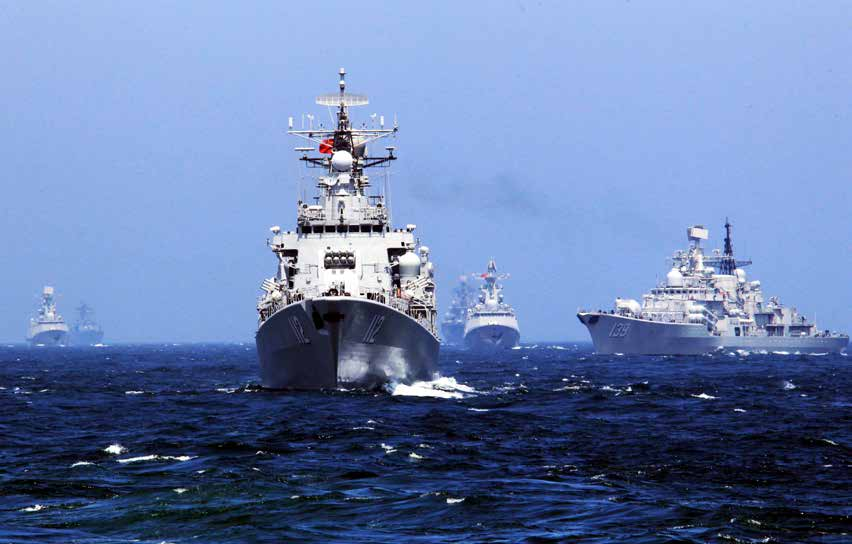 China Strategic Perspectives 9 China Moves Out: Stepping Stones Toward a New Maritime Strategy by Christopher H.