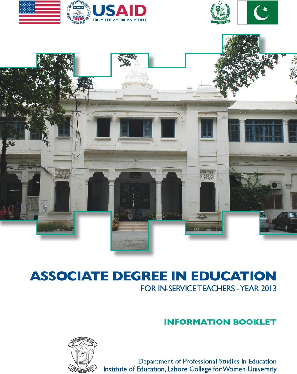 Department of Professional Studies in Education