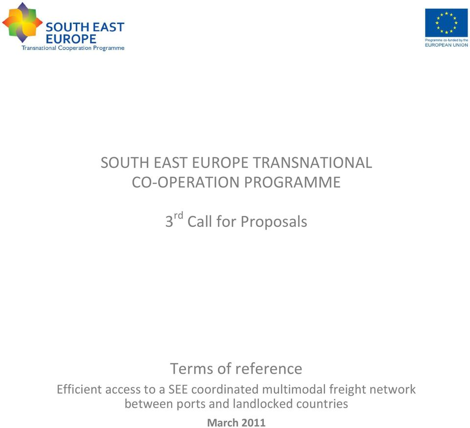 Efficient access to a SEE coordinated multimodal