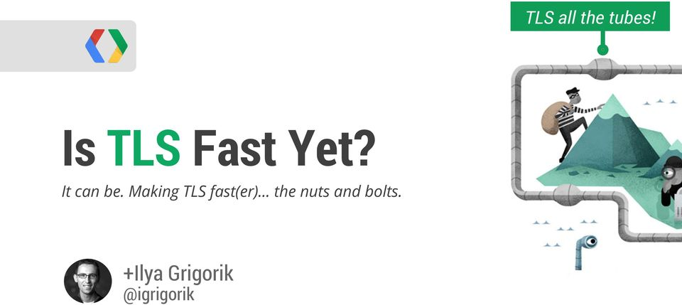 It can be. Making TLS fast(er).