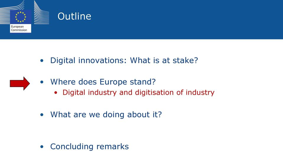 Digital industry and digitisation of