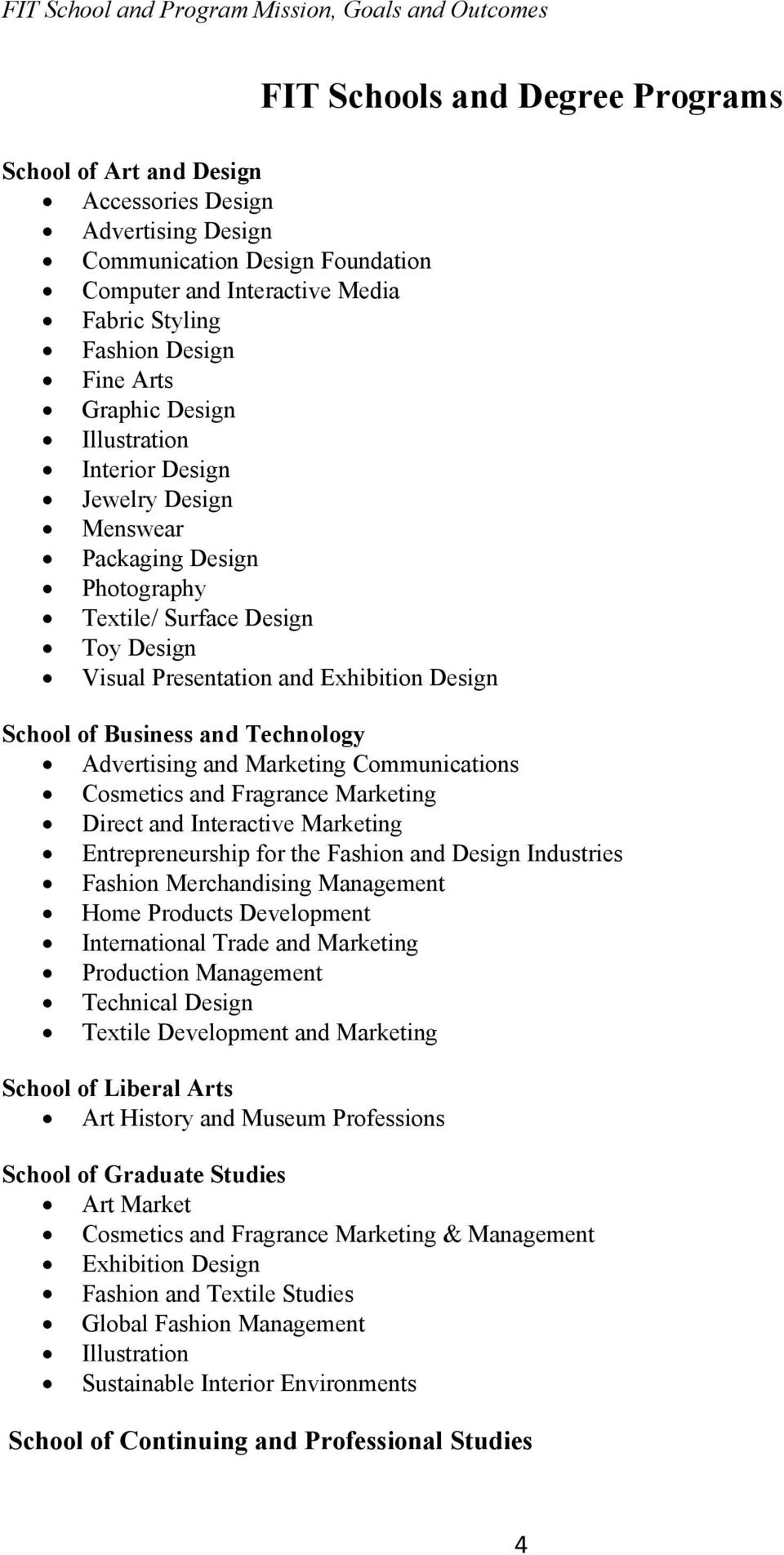 Technology Advertising and Marketing Communications Cosmetics and Fragrance Marketing Direct and Interactive Marketing Entrepreneurship for the Fashion and Design Industries Fashion Merchandising
