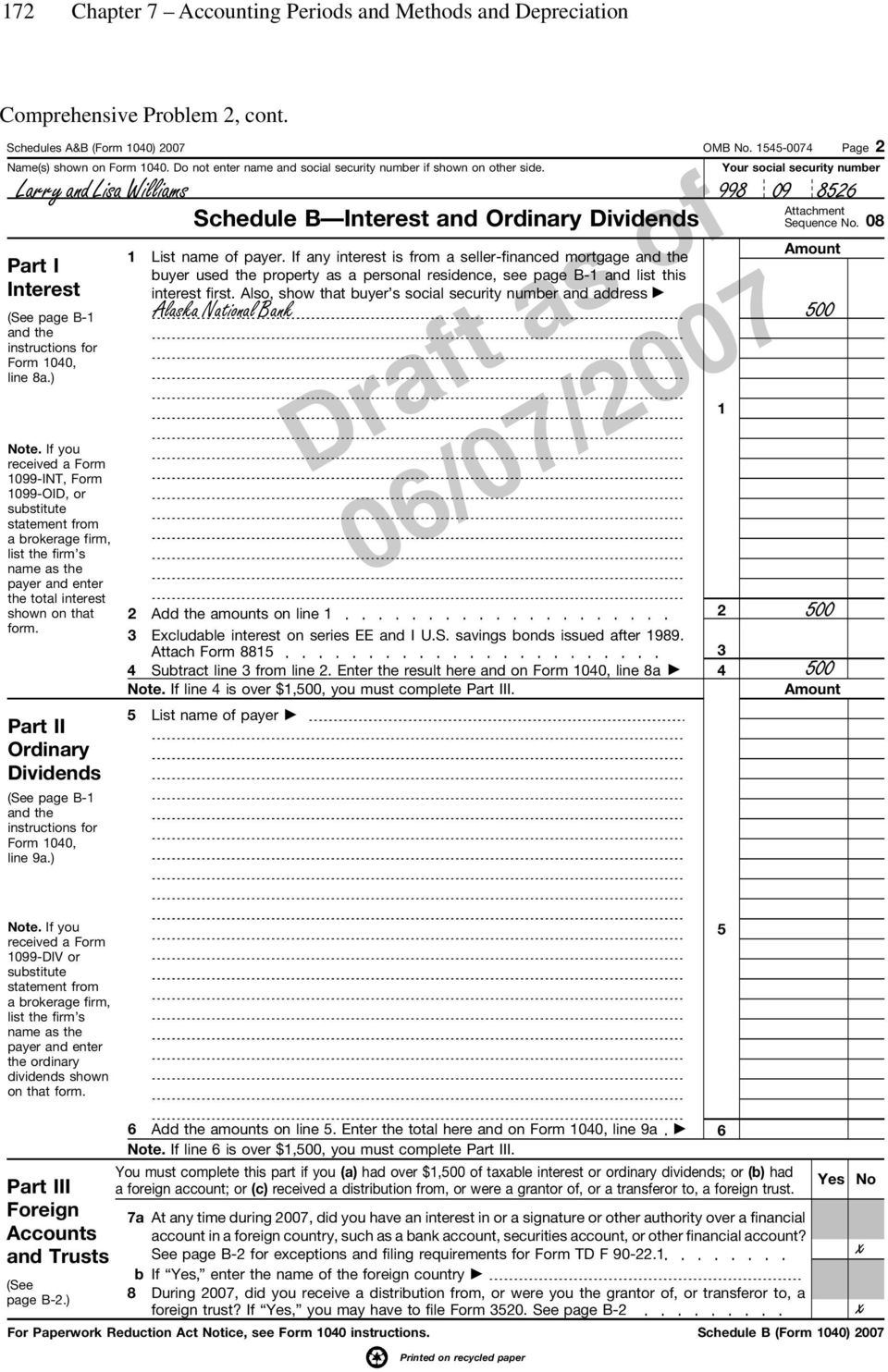 Chapter 7 accounting periods and methods and depreciation pdf if you received a form 1099 int form 1099 oid or substitute falaconquin
