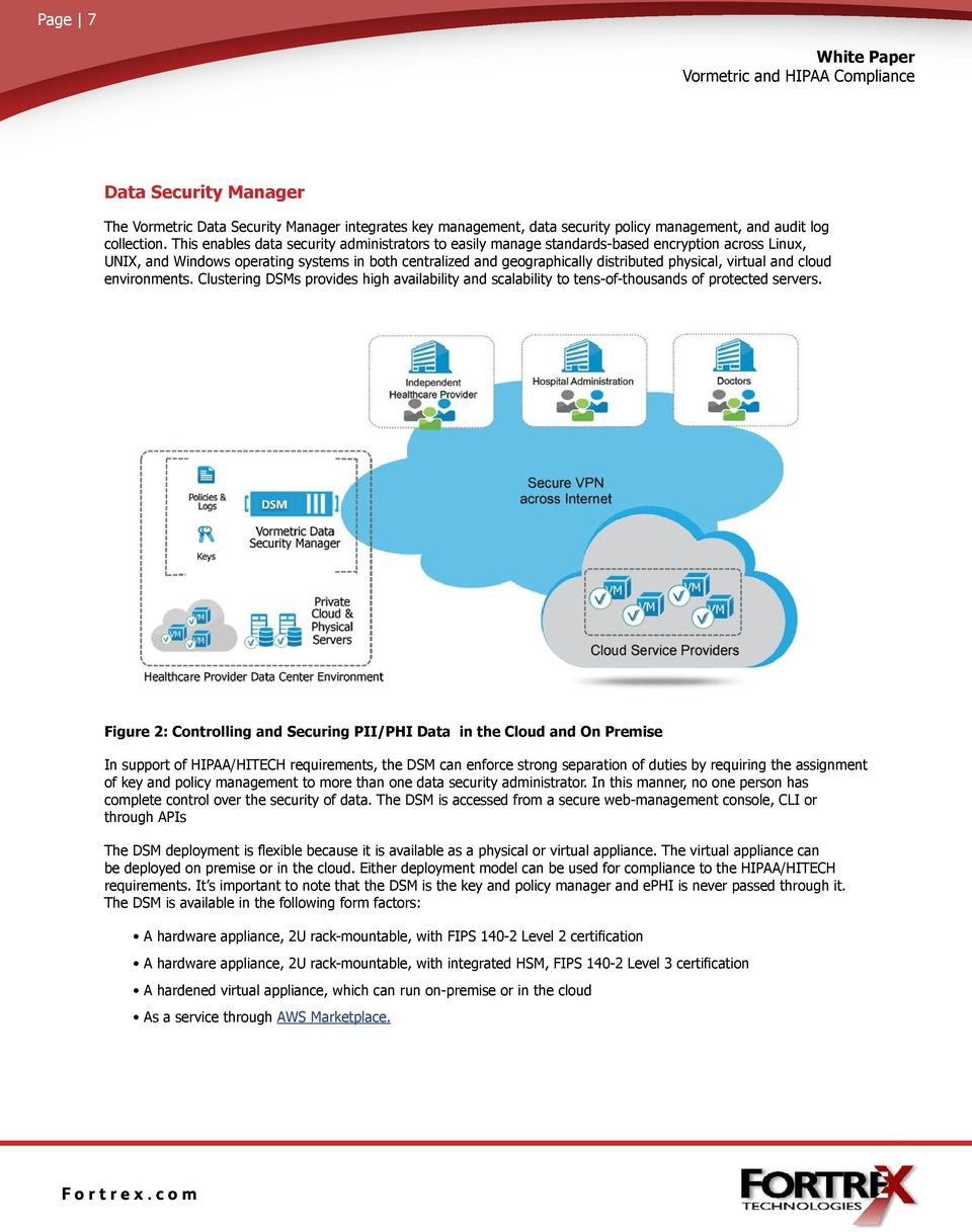 virtual and cloud environments. Clustering DSMs provides high availability and scalability to tens-of-thousands of protected servers.