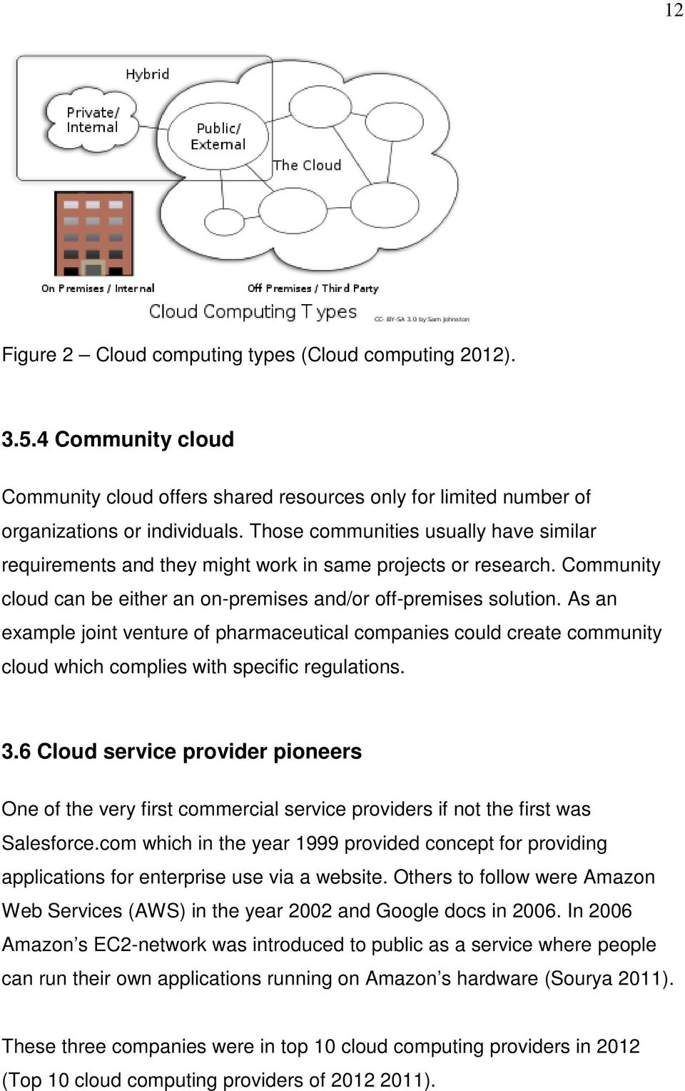 As an example joint venture of pharmaceutical companies could create community cloud which complies with specific regulations. 3.