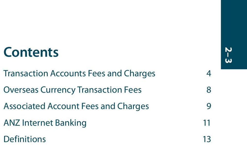 Fees 8 Associated Account Fees and