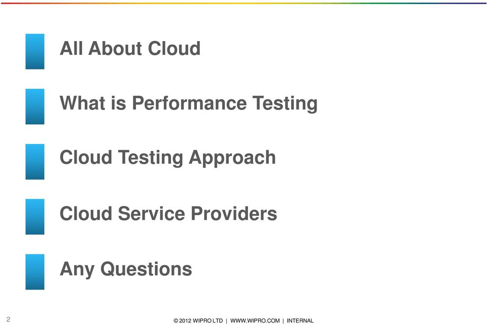 Testing Approach Cloud
