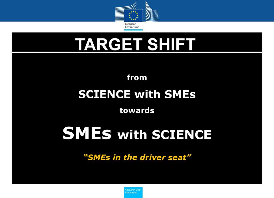 towards SMEs with