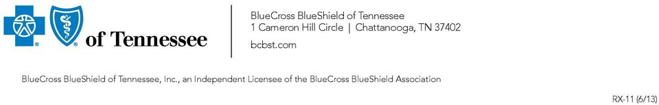 com BlueCross BlueShield of Tennessee, Inc.