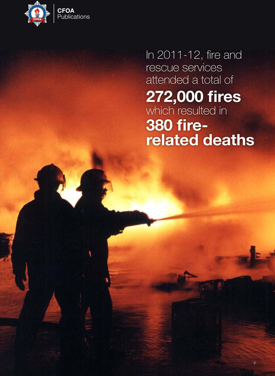 272,000 fires which resulted
